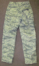 Trouser, Man's Utility Air Force Camouflage 32S NWOT Tiger Stripe