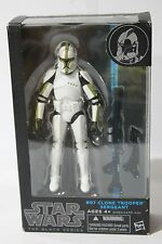 STAR WARS 6 INCH BLACK SERIES SERIES 2014 GREEN CLONE TROOPER SERGEANT #07