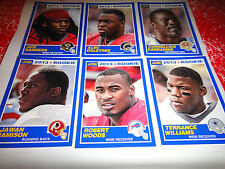 2013 SCORE FOOTBALL, BLUE BORDER, ROOKIE CARDS==PICK 5 FROM LISTING