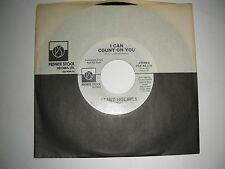 Promo 45 Clint Holmes - I Can Count On You  Private Stock VG 1976
