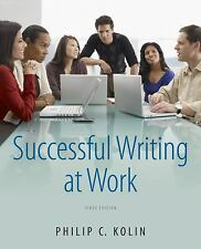 Successful Writing At Work by Philip Kolin