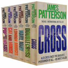 JAMES PATTERSON __ ALEX CROSS SERIES __ 6 BOOK SET __ BRAND NEW __ FREEPOST UK