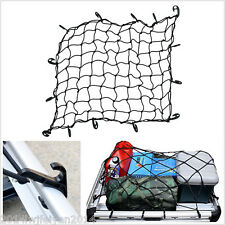 Car Truck Trailer Elastic Bungee Roof Rack Basket Cargo Net with Hooks 70cm*70cm