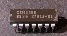 CEM3360 Curtis Dual VCA IC Chip - NOS - Analog Synth - USA Shipping