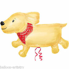 "39"" Pet Dog Labrador Puppy Animal Children's Party Foil Supershape Balloon"
