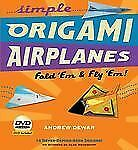 Simple Origami Airplanes : Fold 'Em and Fly 'Em! by Andrew Dewar (2010, Kit) NEW