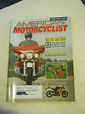 April 2008 American Motorcyclist Magazine  (BD-45)