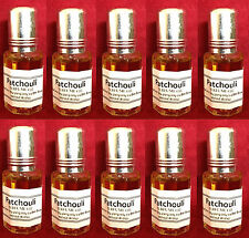 Lote x 10 PATCHOULI PERFUME NATURAL OIL 6ml