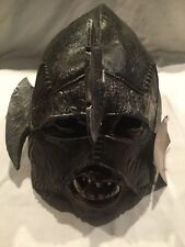 lord Of the rings the two towers uruk hai adult rubber mask rubies new
