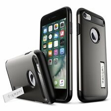 Spigen iPhone 7 Case Slim Armor Gun Metal