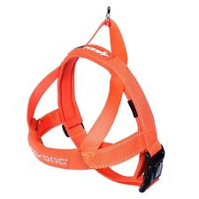 Ezydog Quick Fit Dog Harness - Medium - Orange - Free Delivery