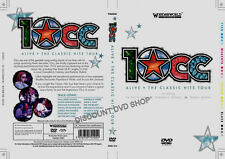 10CC - Live (DVD, 2006) Alive the classic hits on tour. New item.