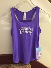 NWT Ivivva By Lululemon Stretch Your Goals Singlet Tank 8 HPRP/CTCL READ SHIP