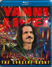 Live: The Concert Event by Yanni (Blu-ray Disc, Mar-2010)