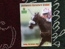 2001 CURRAGH RACECARD - JUDDMONTE BERESFORD STAKES 14/10/01