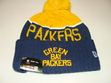 Green Bay Packers Knit On Field New Era Toque Beanie Retro Sideline NFL Cap Hat