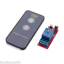 5V 1 channel Relay Module With Remote For MCU Control PLC Smart Home Control NEW