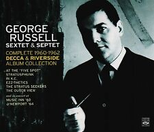 George Russell Sextet & Septet - The Complete 1960-1962 Decca & Riverside 4-cd