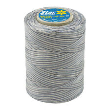 #854~STAR COTTON MACHINE QUILTING SEWING CRAFT THREAD~VARIEGATED~GRAY STONES