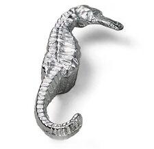 """Cabinet Hardware Sea Horse Knobs 56160 Antique Pewter 2-1/2"""" diam"""