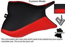 BLACK & RED CUSTOM FITS HONDA CB 1000 R 08-13 FRONT RIDER SEAT COVER