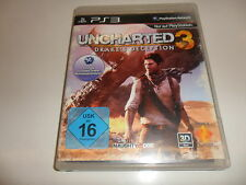 PlayStation 3 PS 3 ps3 Uncharted 3: Drake 's decepción