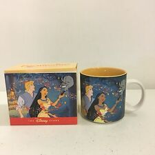 The Disney Store Pocahontas Ceramic Coffee Mug Cup New In Box Retired
