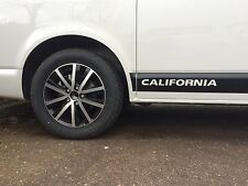 VW Transporter California T4 & T5 Side Stickers Any Colour On Request