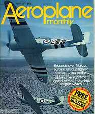 Aeroplane Monthly 1977 May SE5A,Brigand,Douglas Skyray,Berlin,Saunders Roe A10