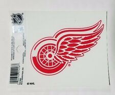 "Detroit Red Wings 3"" x 4"" Small Static Cling - Truck Car Window Decal NEW NHL"