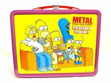 NECA 2002 LE Matt Groening Tin Metal Lunchbox w/ Thermos The Simpsons Couch Gag