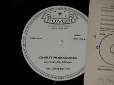 DAS CHARLY-BAR TRIO -Charly's Piano Cocktail- LP Polydor Promo Archiv-Copy mint