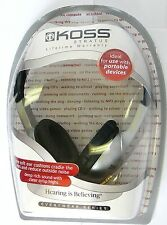 178857 KOSS Stratus Closed-ear Design Stereo Headphones for mp3/laptop/cd/mixer