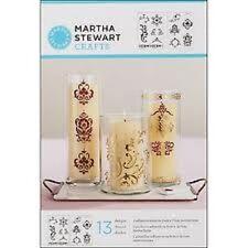 Martha Stewart ADHESIVE STENCILS 13 Designs SCROLLS