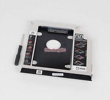 2nd Hard Drive Caddy Adapter Bay for Dell Latitude E6420 E6430 E6530 E6330