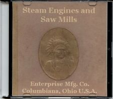 Enterprise Steam Engines and Saw Mills Catalog on CD