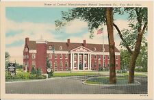 Home of Central Manufacturers Mutual Insurance Co. Van Wert Ohio OH Postcard