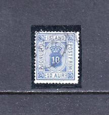 VI 142 ICELAND #O6 OFFICIAL STAMP, USED CDS LC- $15.00 CATALOG