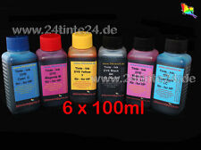 600ml inchiostro refilltinte INK HP 363 130 hp363 6 color x6 120 90 50 30 84 85 hp84