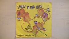 "Off Spring Records ""THREE BLIND MICE"" 45 RPM 60s"