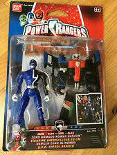Power rangers SPD Blue power up megazord arrmour ranger - New Sealed