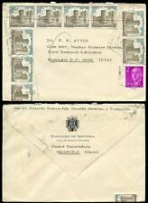 SPAIN 1971 NUCLEAR ENERGY OFFICIAL ENVELOPE to NAVAL RESEARCH USA