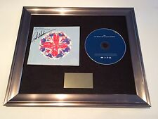 PERSONALLY SIGNED/AUTOGRAPHED GARETH MALONE - SING CD FRAMED PRESENTATION. RARE