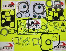 Harley Twin Cam BIG BORE 1550 Top End+Base FULL Gasket Set/Kit w/.030 MLS Head