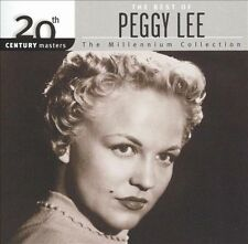 Peggy Lee, 20th Century Masters: Millennium Collection, Excellent
