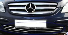 Mercedes-Benz B-Class W245 05-11 - CHROME Kit Front Grille Covers Trim Tuning 3M