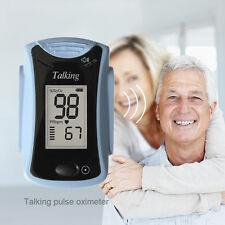 Pulse Oximeter OX for Senior Finger Blood Oxygen SpO2 PR Monitor FDA