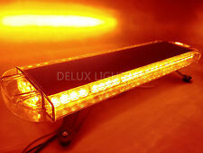 56 LED LIGHT BAR EMERGENCY BEACON WARN TOW TRUCK PLOW RESPONSE STROBE AMBER 30""