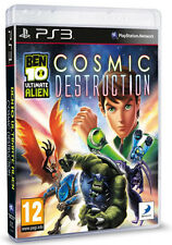 Ben 10 Ultimate Alien Cosmic Destruction PS3 *in Excellent Condition*