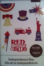 Cricut Cartridge Independence Day American 4th of July Firetruck Statue Liberty